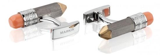 Markin:办公文具戴上身-创意珠宝