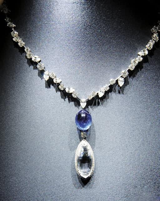 """海瑞温斯顿""""珠宝宫Court of Jewels Exhibition""""巡展-珠宝首饰展示图【行业经典】"""