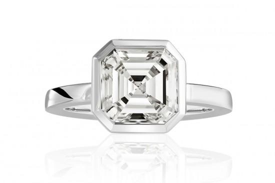 不可仿制的魅力:皇家阿斯切(Royal Asscher Cut)-珠宝首饰展示图【行业经典】
