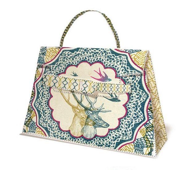 纸质Hermès Kelly凯莉包-时尚珠宝设计【行业顶级】