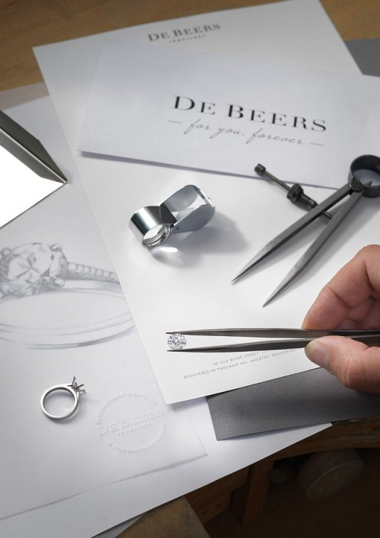De Beers:为你订制-珠宝首饰展示【行业精选】