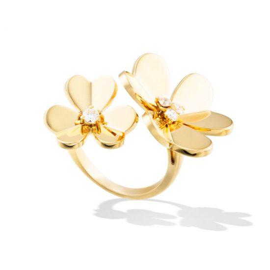 梵克雅宝(Van Cleef & Arpels):春夏双生花-精美珠宝【秘密:适合高贵女人的珠宝】