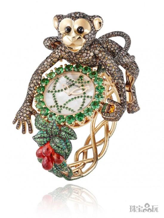 群猴献瑞 讨喜又讨彩的猴子珠宝