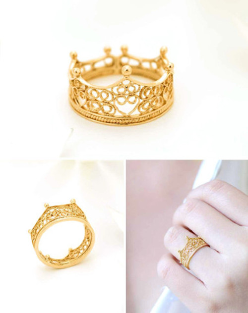 结婚黄金戒指价钱  黄金结婚戒指款式有哪些_婚戒首饰