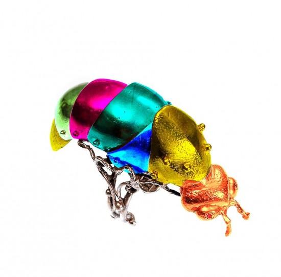 虫子戴上身!VERNISSAGE 2015/16秋冬首饰系列-时尚珠宝设计【行业顶级】