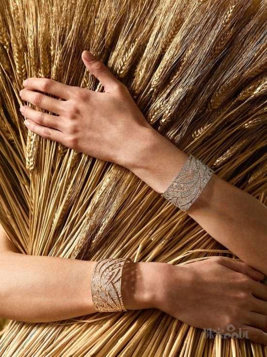 Les Blés de CHANEL:麦穗变珠宝-精美珠宝【秘密:适合高贵女人的珠宝】
