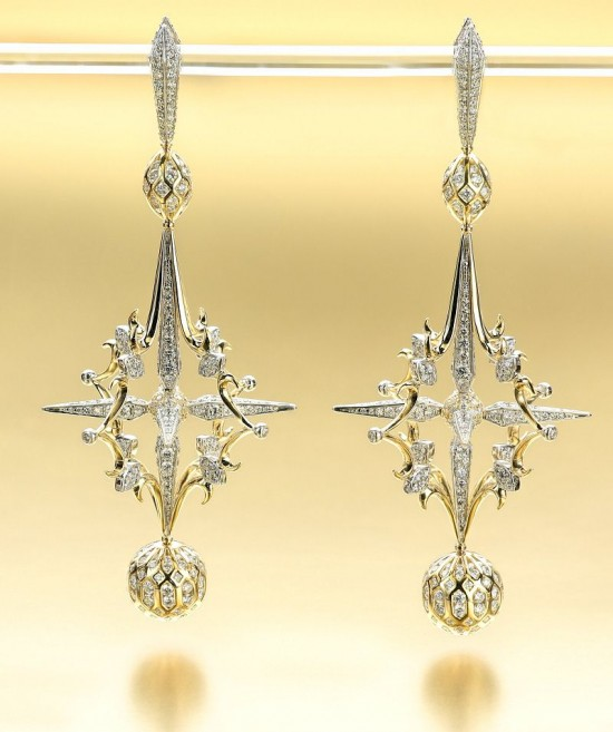2015年美国Saul Bell珠宝设计获奖作品