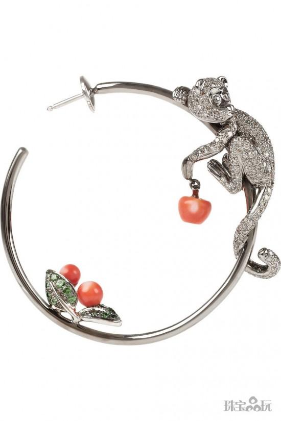 群猴献瑞 讨喜又讨彩的猴子珠宝-精美珠宝【秘密:适合高贵女人的珠宝】