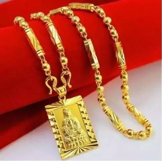黄金项链一般多少克合适佩戴?【男女黄金项链标准】