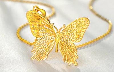 哪种黄金首饰好看 金项链镶嵌钻石怎么样