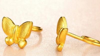 黄金耳钉多少钱一对 耳钉有什么款式