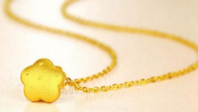 3.黄金吊坠