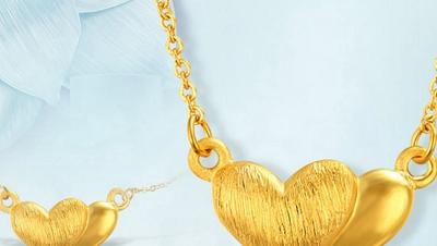 黄金项链吊坠女有什么款式 项链吊坠戴到什么位置