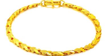 金手链图片及价格