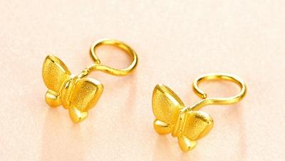 黄金耳钉多少钱一对呢
