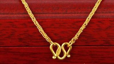 璀璨迷人的黄金项链价格你清楚吗