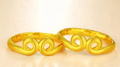 黄金戒指图片以及黄金戒指的寓意