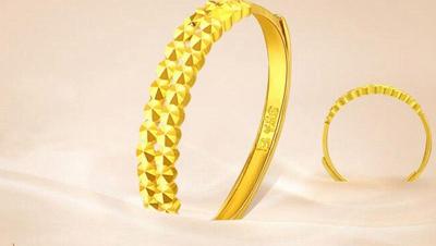 黄金戒指图片女款新款