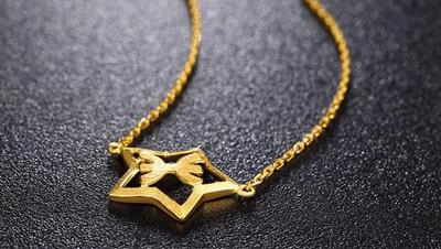女士黄金项链的保养方法
