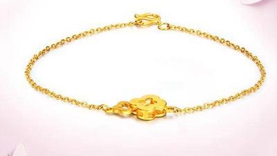 精美别致的黄金手链最新款
