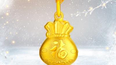 黄金项链吊坠图片给你一场前所未有的视觉盛宴