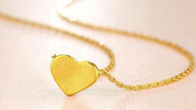让人爱不释手的黄金项链吊坠