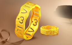 黄金女戒指图片哪个好看