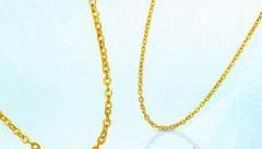 金项链的款式让你爱不释手
