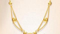 黄金项链的搭配方法