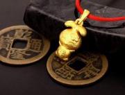 3D硬金美饰——小兔送福