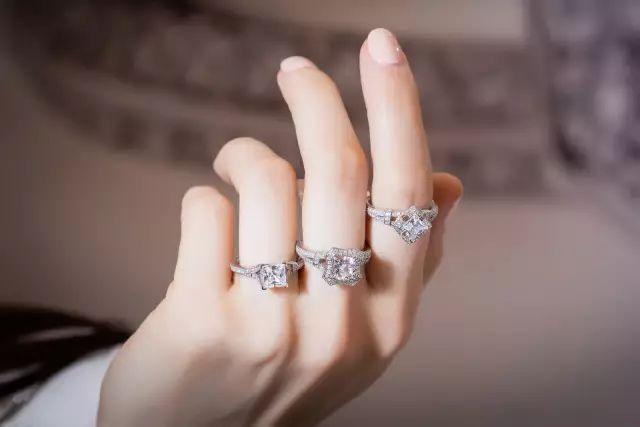 适合修长手指的戒指