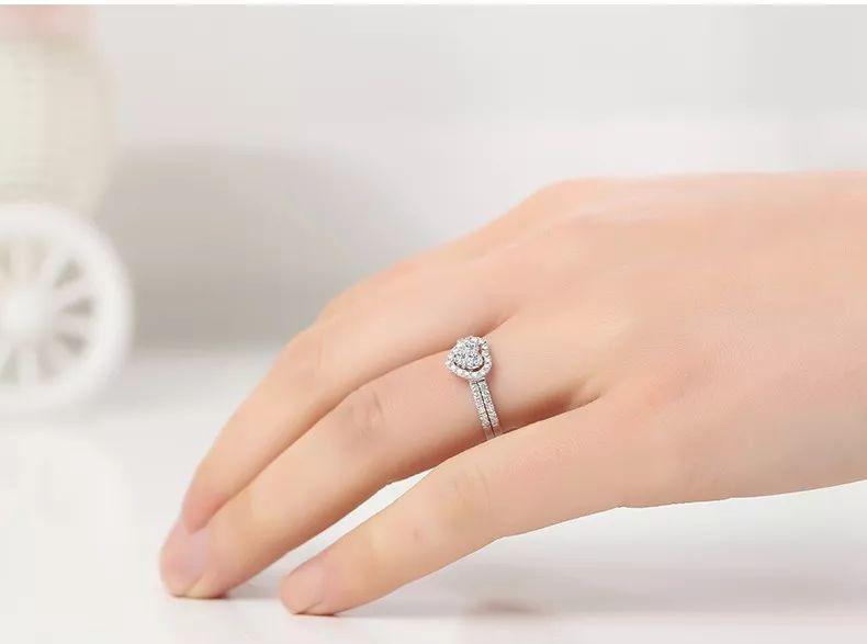 适合较粗手指的戒指