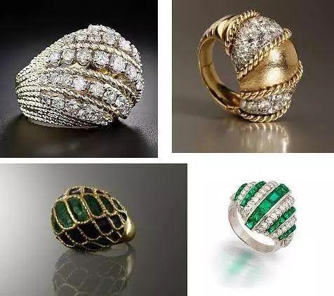 豪华镶嵌之二:Boule Ring