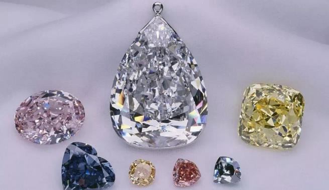 彩钻与白钻