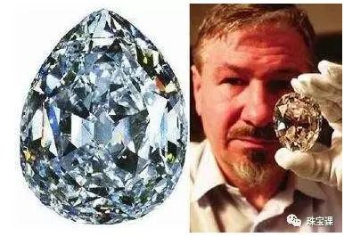 库里南钻石,产于  南非扎伊尔伯里梅尔