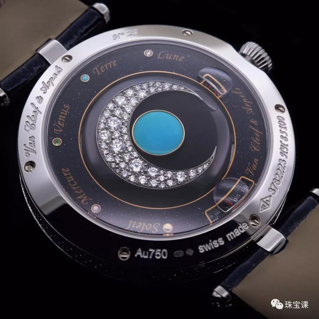 Lady Arpels Planétarium腕表