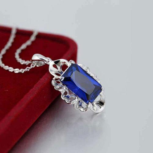 蓝宝石鉴别真假,蓝宝石