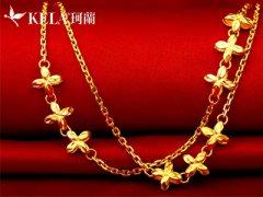 流行的黄金首饰款式介绍 黄金和18K金的区别