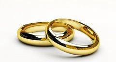 黄金结婚戒指多少钱  什么样的金戒指不过时_婚戒首饰