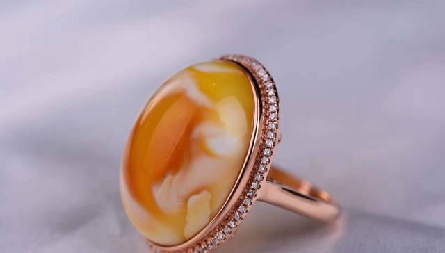 蜜蜡戒指怎么镶嵌?蜜蜡镶嵌过程需要注意什么