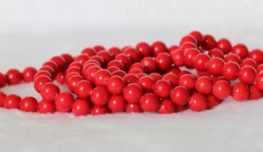 红珊瑚:可以沾水