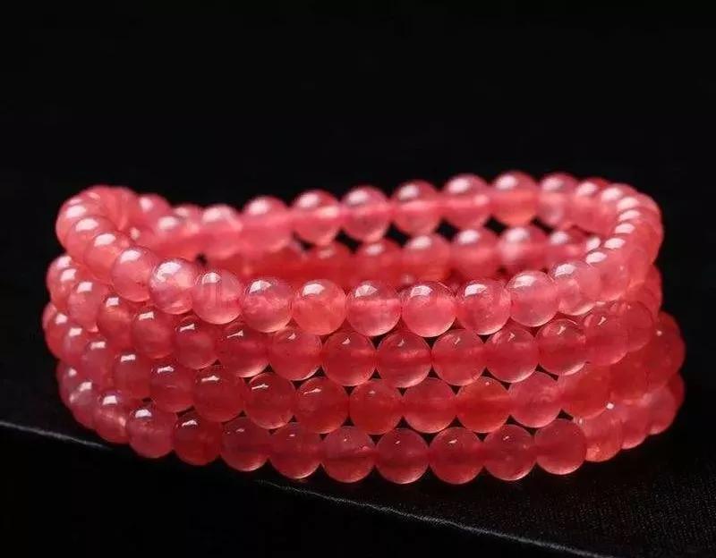 冰种红纹石手串