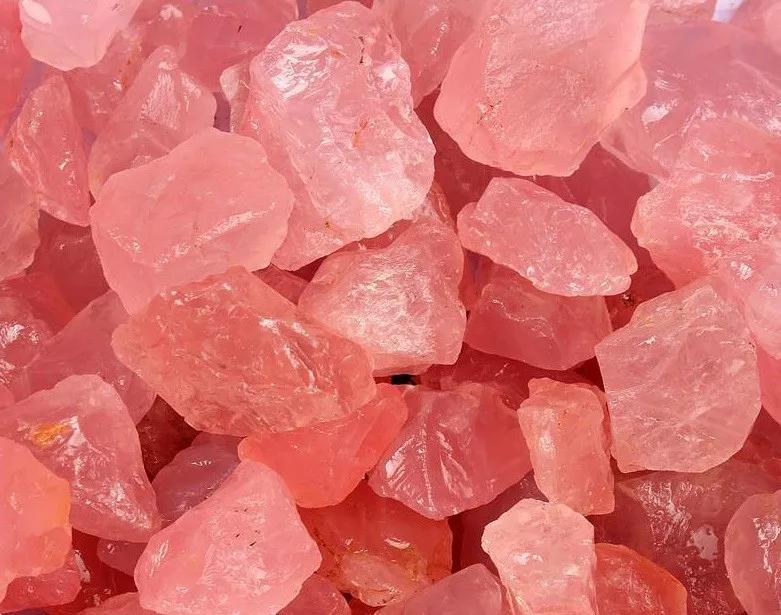 粉水晶原石