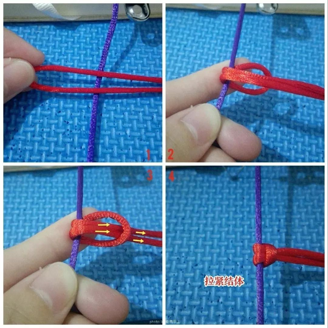 超实用珠宝结绳法,好看的珠宝结绳方法
