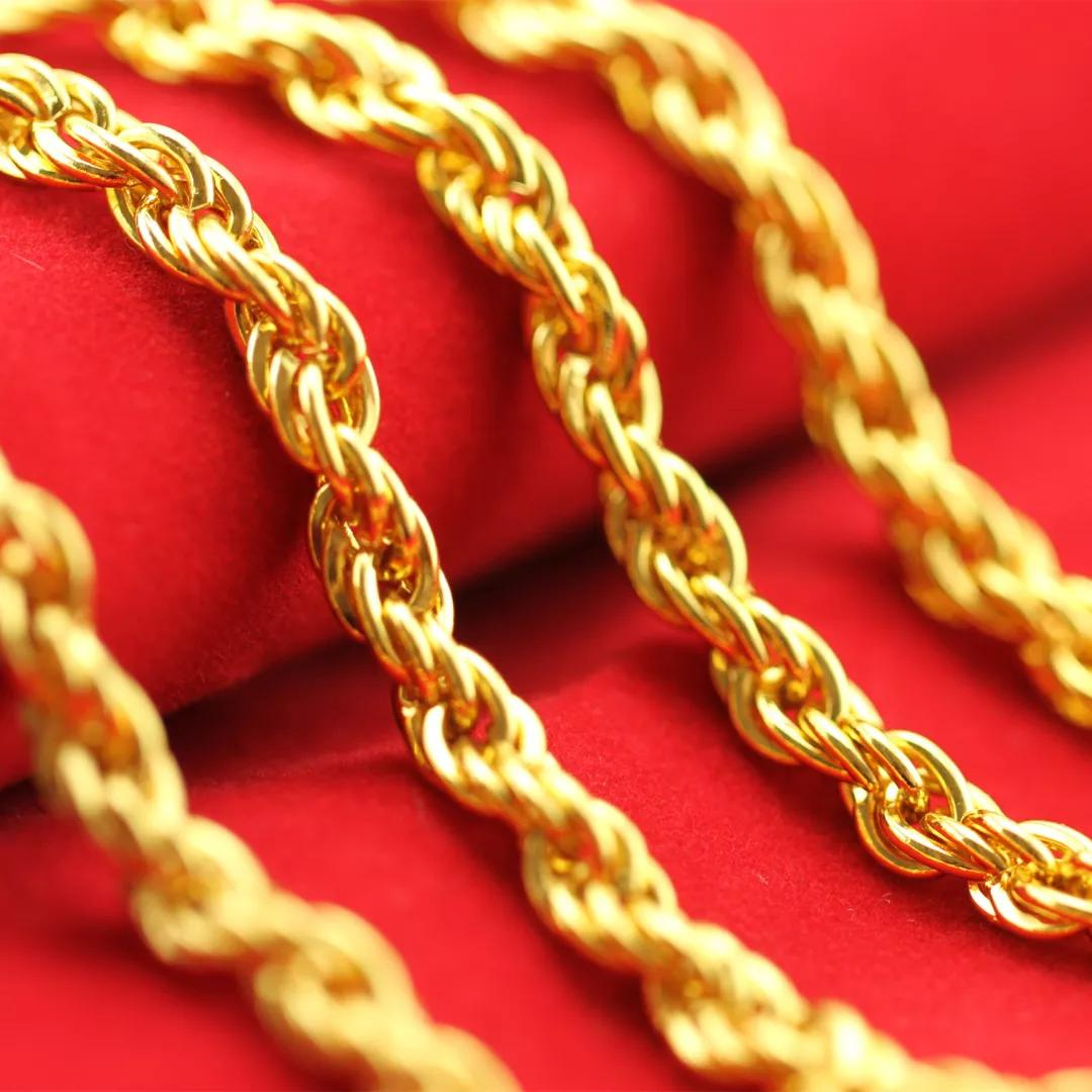 黄金首饰,佩戴有好处,但是真可以一直戴着吗?