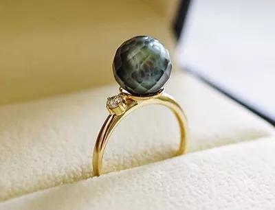 珍珠当成宝石来切割