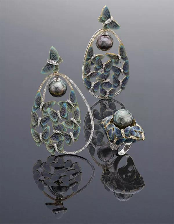 俄罗斯珠宝设计师Ilgiz Fazulzyanov刻面珍珠作品