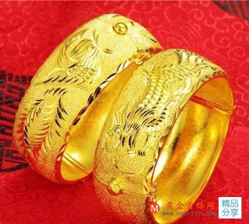 这些图案,最适合结婚-黄金首饰图案的美好寓意
