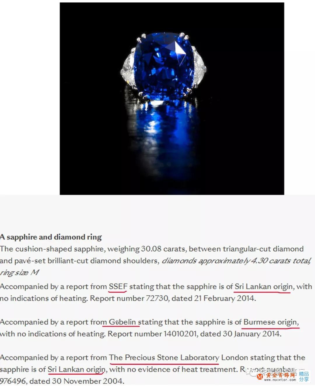 """一粒价值300万的蓝宝石,两个产地鉴定结论,到底是""""缅甸""""还是""""斯里兰卡""""呢?"""