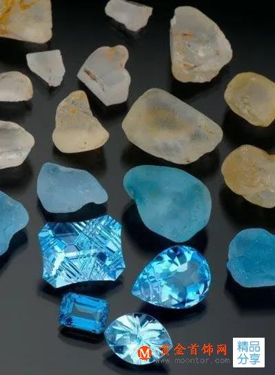 托帕石颜色种类图片及托帕石的寓意!
